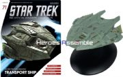 Star Trek Official Starships Collection #071 Klingon Transport Eaglemoss